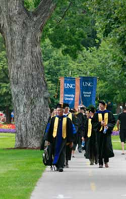 procession at convocation
