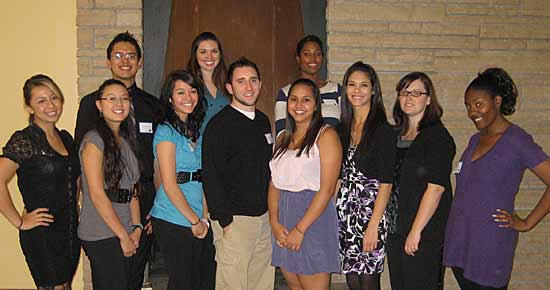 Group photo of UNC's McNair Scholars