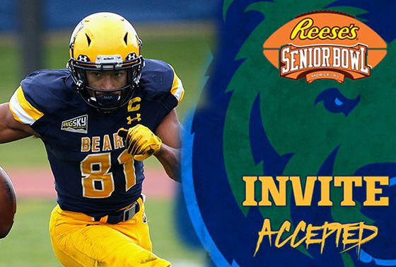 Alex Wesley to attend Reese's Senior Bowl