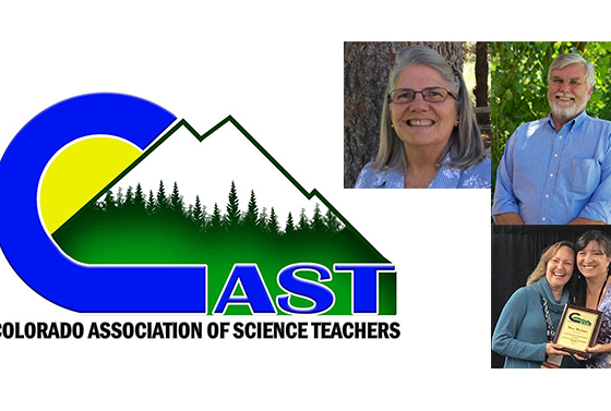 Three UNC Faculty Members Receive Awards from Colorado Association of Science Teachers