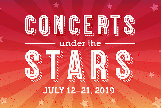 Concerts Under the Stars 2019 logo