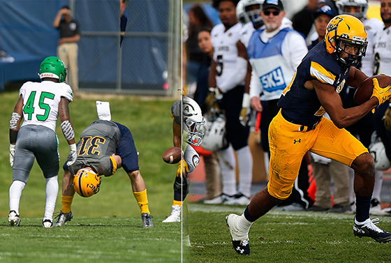 Wesley and Bobenmoyer continue to pursue their NFL dreams
