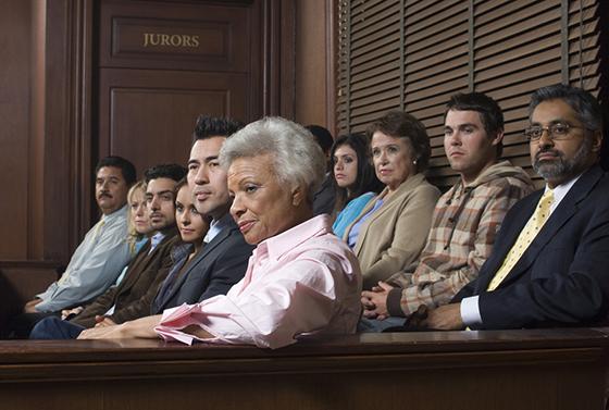 panel of jurors