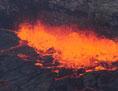 volcano lava lake