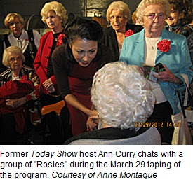 anne curry talks to rosies