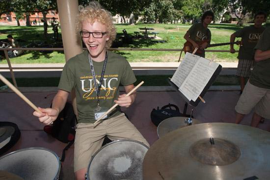2012 jazz camp student