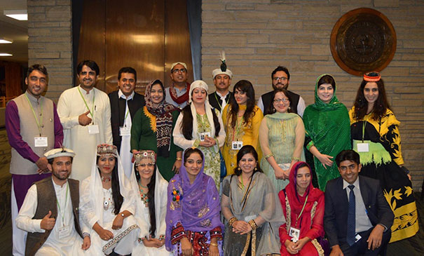 Pakistan teachers group photo
