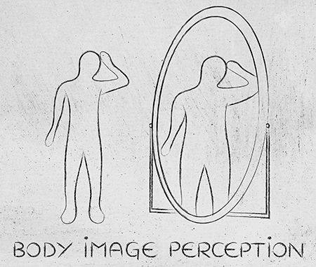 Body image perception versus reality