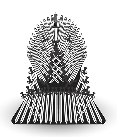Game of Thrones sword throne