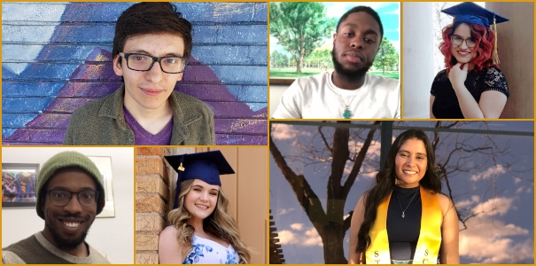 Six graduating students share their stories