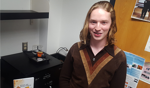 Jacob Fry UNC student granted funds to study nanotechnology