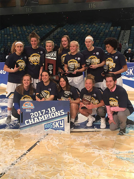 Bears Win Big Sky Championship