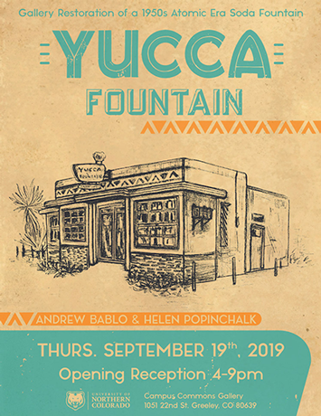 Yucca Fountain event flier