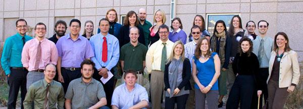 Grad students, 2010