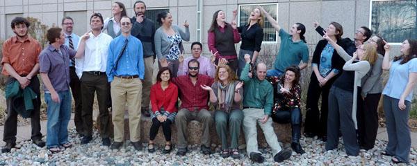 Grad students, 2011