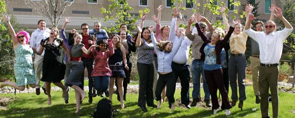 Grad students, 2012