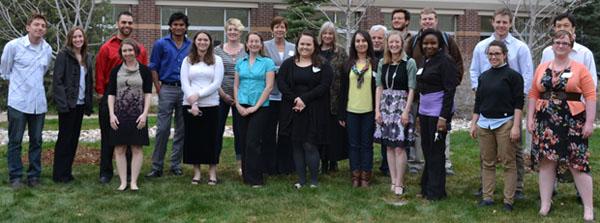 Grad students, 2014