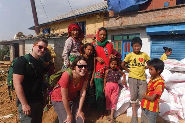Megan in Nepal