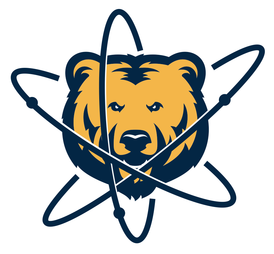 UNC Physics Atom Bear