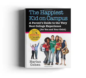 The happiest kid on campus book cover