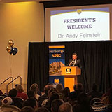 Andy speaking at Destination UNC