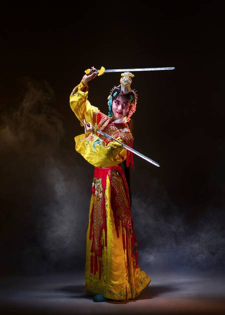 chinese swordswoman