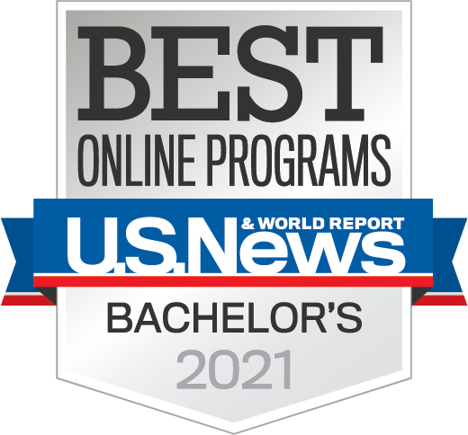 US News Online Bachelors Badge