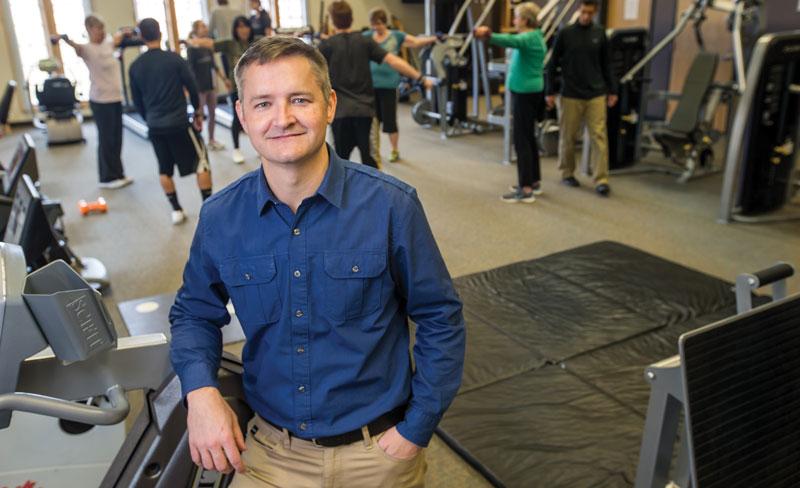 UNC Cancer Rehabilitation Institute Director Reid Hayward