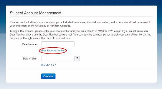 Student Account Management