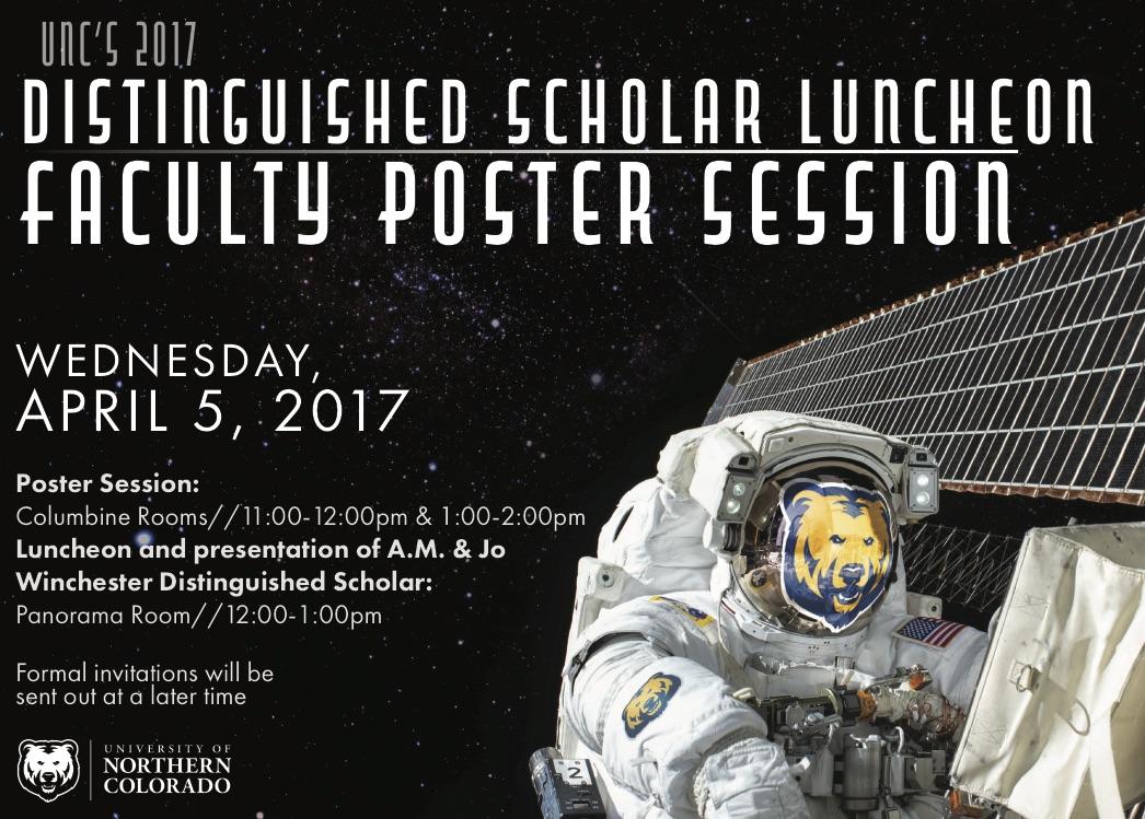 Distinguished Scholars Postcard - frint