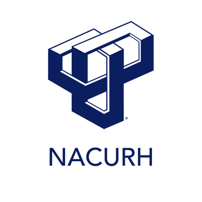 NACURH logo (navy blue links)