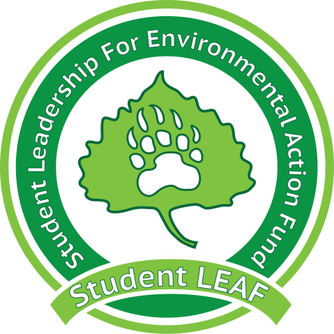 Student Leadership for Environmental Action Fund (LEAF) Logo