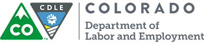 Colorado Department of Labor sign